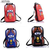 free shipping HOT SALE EVA Cars School bag Children backpacks kids Boys Girls baby bags
