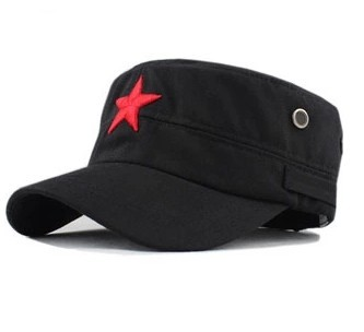 2015 new Vintage Unisex Women Men casquette baseball cap Fabric Adjustable Red Star Outdoor Sun Casual Military Hat(China (Mainland))