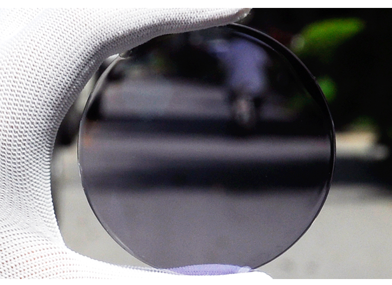 Aspheric Surface 1.67 Index High Quality Lenses Gray Brown Photochromic Lenses 2 Pieces Myopia Glasses Men Eyewear Spectacles