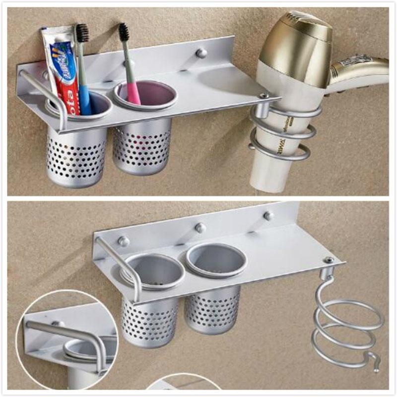 . Hair Dryer Holder For Bathroom