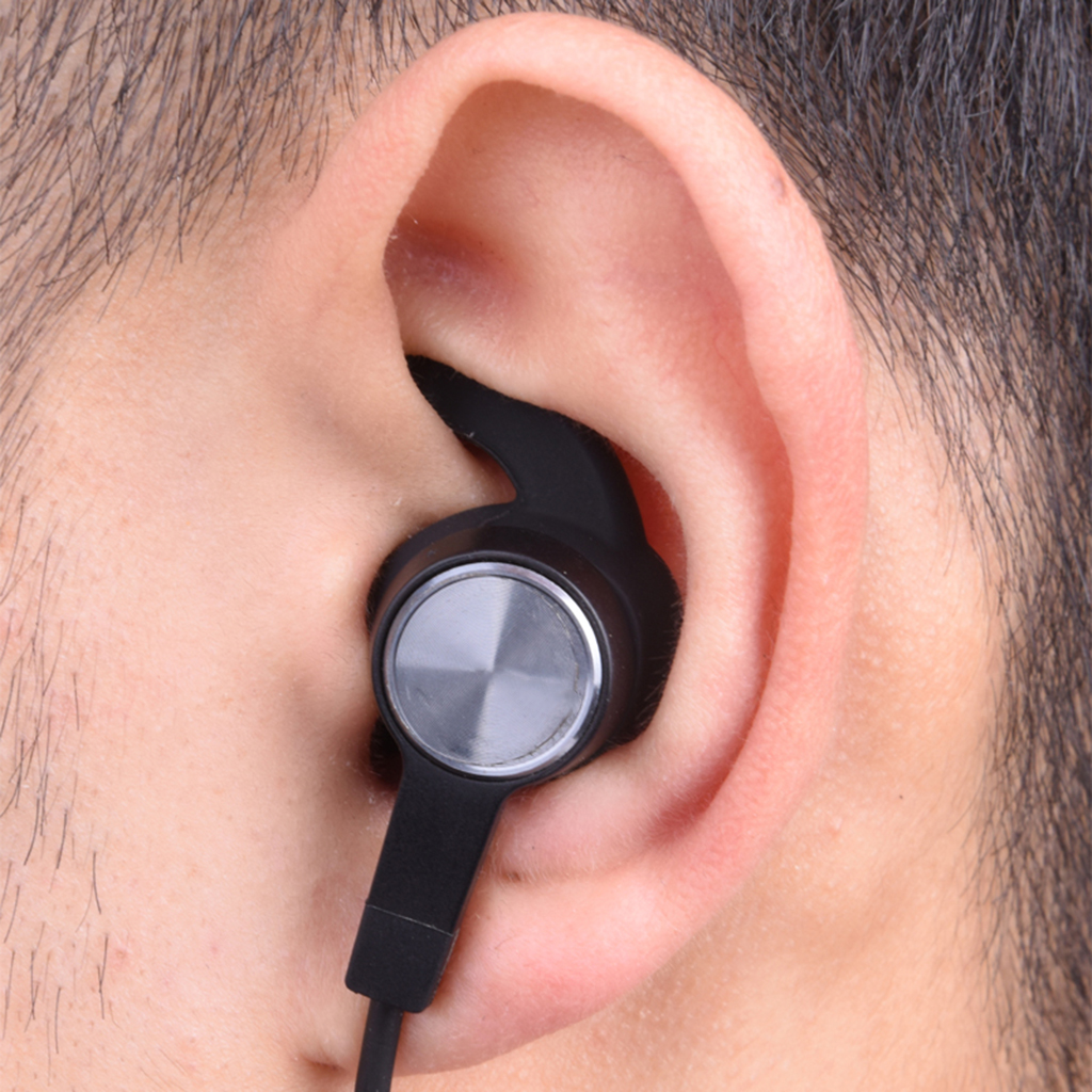 3 Pairs Replacement Noise Cancelling Silicone Earbuds S M L Ear Tips for Wireless Earphones Huawei Honor AM61 Headset Comfort