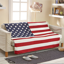 Union Jack America Flag style blanket Fabric British style Flannel quilts bed sheet super soft warm comfortable sheet(China (Mainland))