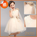 Luxury Flowers Girls Dresses for Wedding Evening Party Sequined Princess Summer Dress Girl Children Brand Kids