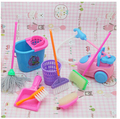 Free Delivery Woman birthday present plastic Play Set Dresser + rest room + bathtub suite doll furnishings doll equipment for barbie doll