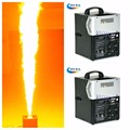 2pcs lot Flame Projector Stage Fire Flame Machine DMX Controlled Fire Effect Machine Stage Flame Machine