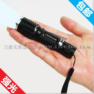 Inova led mini portable flashlight glare focusers charge