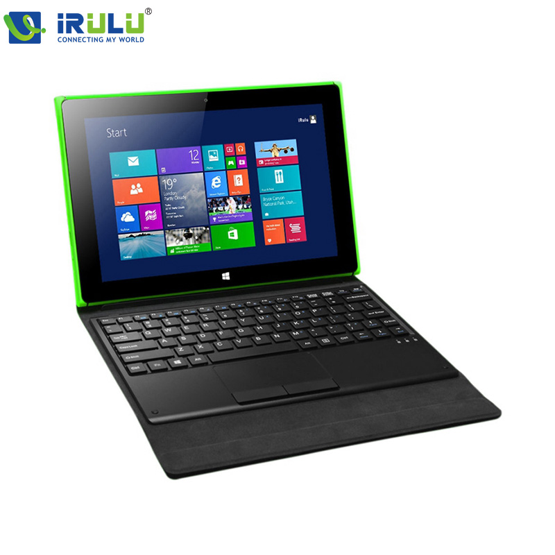 "iRULU Walknbook 10.1"" Windows 10 Tablet intel CPU Laptop 2G/32GB Quad Core 2 in 1 Dual Camera BT4.0 Wifi Detachable Keyboard(China (Mainland))"
