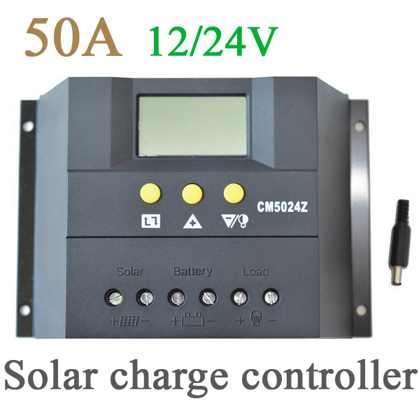 50A 12/24V PWM solar charge controller,Fast delivery&amp; shipping 3-7day to all country<br><br>Aliexpress