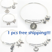 Cheap Bracelet Bangle for Women with Cute Charms(China (Mainland))