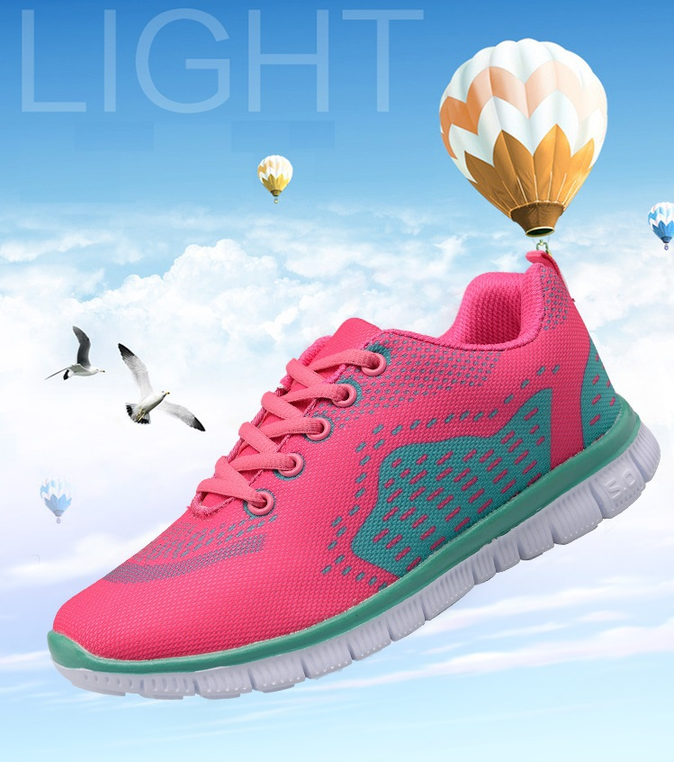 Breathable Women Girl Running Shoes Knit Free Run Barefoot Sport Trainers Adult Sneakers Outdoor Athletic Jogging Walking HD-033(China (Mainland))