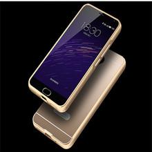 Meizu M3 M2 Note Case Meizu m2 mini M1 Note Mx 3 4 5 4Pro Etui Luxury Aluminum Metal frame Plastic Back Cover Cases Caso Coque
