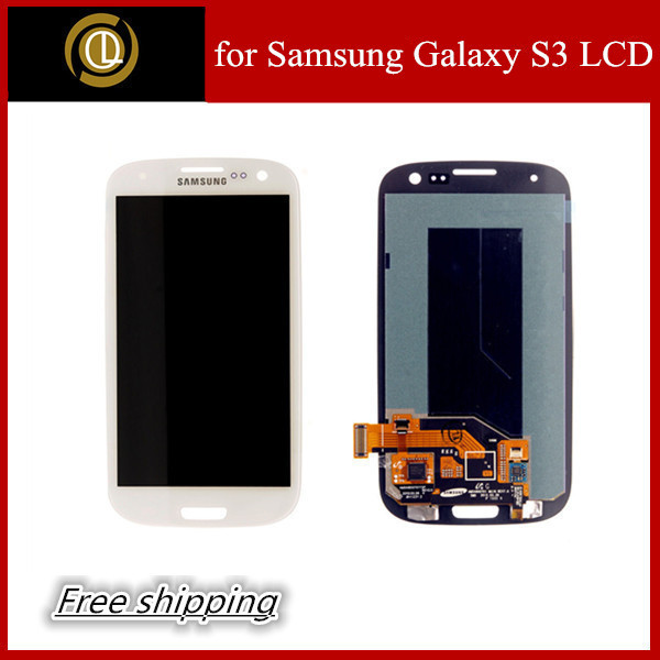 for Samsung Galaxy S3 LCD Display Touch Screen Digitizer Assembly gt-i9300 gt-i9305 sgh-i747 sch-i535 sgh-t999 sph-l710 sch-r530(China (Mainland))
