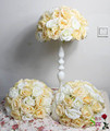 SPR 10pcs lot 35cm dia wedding artificial flowers ball for table center or road lead stage
