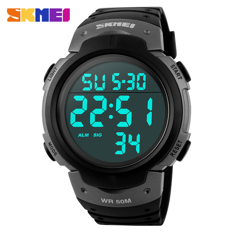 2015 Men Sports Watches SKMEI Brand Fashion Dress Digital Watch LED Outdoor Wristwatches Military Watches relogios masculinos(China (Mainland))