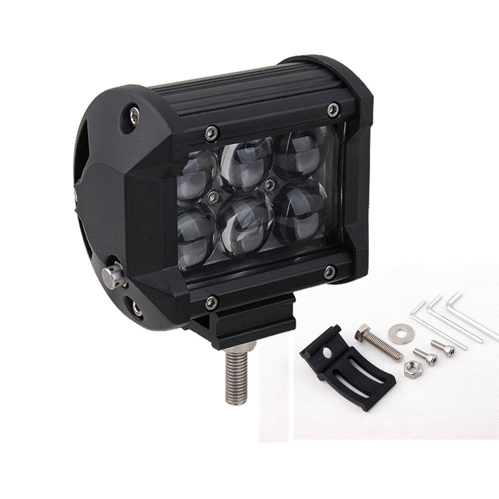 Здесь можно купить  4 inch 30w LED Work Light Bar 12V 24v Spot Light Motorcycle SUV ATV Tractor 4X4 LED Offroad Drive Fog Light seckill 18w 27w  Автомобили и Мотоциклы