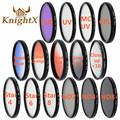 KnightX ND FLD CPL MC UV Star Close up 52MM 58MM 67mm 77MM Color Lens Filter