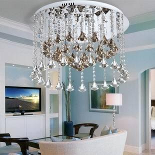 Fashion crystal lamp living room wind chimes crystal lamp ceiling light diamond ball modern crystal lamp(China (Mainland))