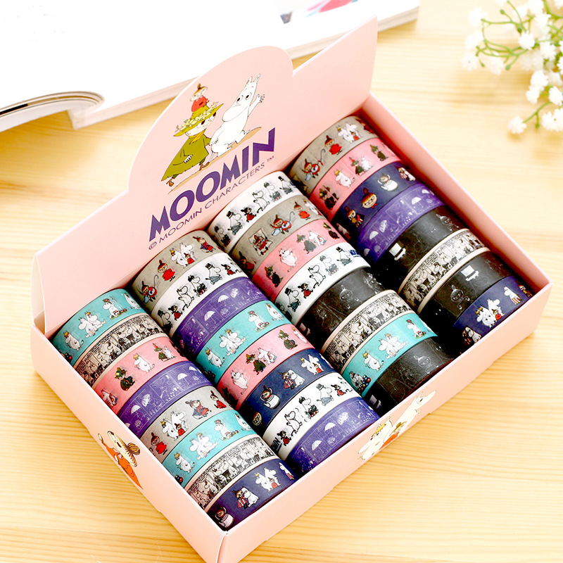 15 mm DIY cartoon aminals  japanese Paper washi tapes scrapbooking stickers decorative tape adesivi School Supplies/32 pcs/lot<br><br>Aliexpress