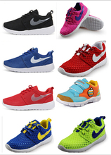 Many  color options new 2015 children's shoes for boys and girls running shoes breathable shoes free shipping  size 25-37(China (Mainland))