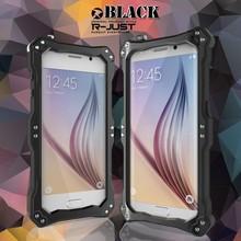 Original Gundam Aerospace Aluminum metal Hard Protective Shockproof Mobile Phone Case For Samsung Galaxy S6Edge G9250 Cover Case