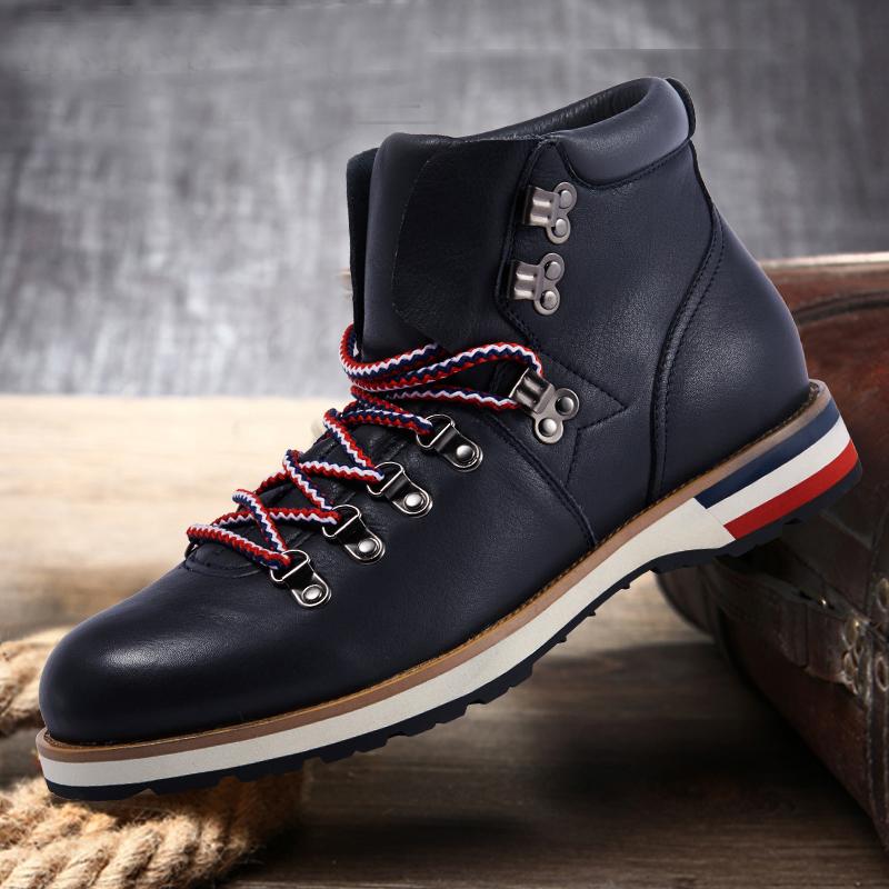 Фотография Baldinini british Martin boots, leather boots male retro tooling boots men boots boots boots boots men desert boots men