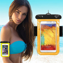 Buy 30M Waterproof Pouch Universal Mobile Phone Bag Swimming Case Easy Take Photo Underwater Huawei GR3 GT3 GR5 Y3C Y5 II Y6 Pro for $3.54 in AliExpress store