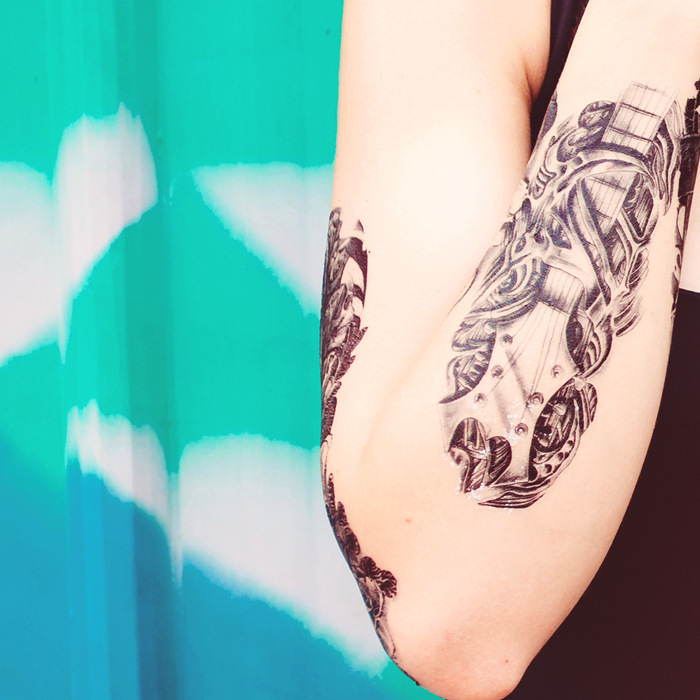 Compra guitarra del tatuaje online al por mayor de China ...