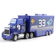 Disney pixar carro 3 brinquedo relâmpago mcqueen jackson tempestade tio caminhão 1:55 diecast liga modelo de carro brinquedo para o miúdo festival presentes(China)