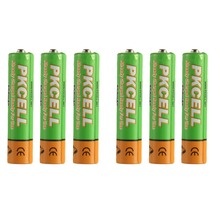 6Pcs AAA 850mAh 1.2V  Low self-discharge  Rechargeable Ni-MH  Battery