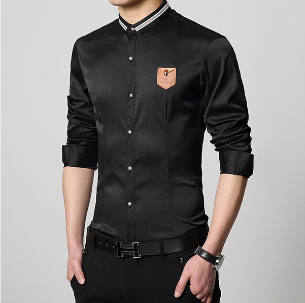 new 2015 fashion summer style slim fit easy care formal