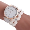 Paradise Hot New Fashion Leisure Womens Quartz Bracelet Watch Crystal Diamond Wrist Watch Relojes de cuarzo
