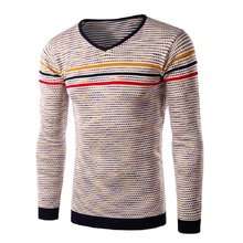 2016 New Autumn And Winter Men's Pullover Thick Sweater Men Crocodile Skin Imprinting Long-Sleeved Cotton Pullover(China (Mainland))