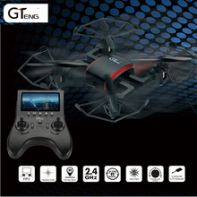 2016 new professional Mini RC Drone Quadcopter 5.8G FPV with 2.0MP Camera One Key Return Headless Mode RTF Mode 2 vs MJX X909T