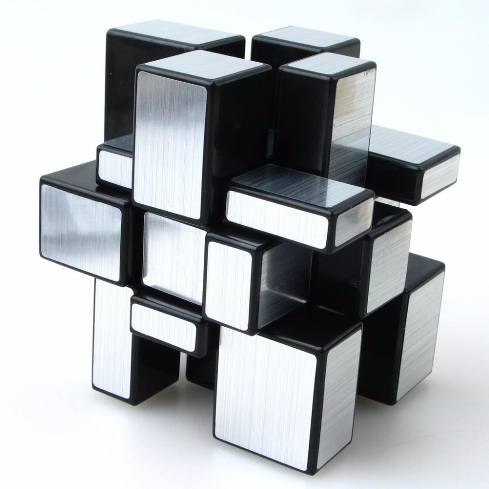 Shengshou Magic Cube Fluctuation Angle Puzzle Cube Skewb Speed Magic Cube Puzzle 3x3x3 Mirror Magic Cube Toys(China (Mainland))