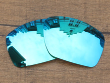 Ice Blue Mirror Polarized Replacement Lenses For Big Taco Sunglasses Frame 100% UVA & UVB Protection