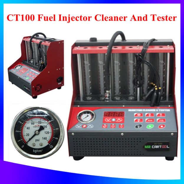 DHL Free Shipping+best price 100% original New Arrival CT100 Fuel injector cleaner and tester more better then CNC602A CNC-602A(China (Mainland))