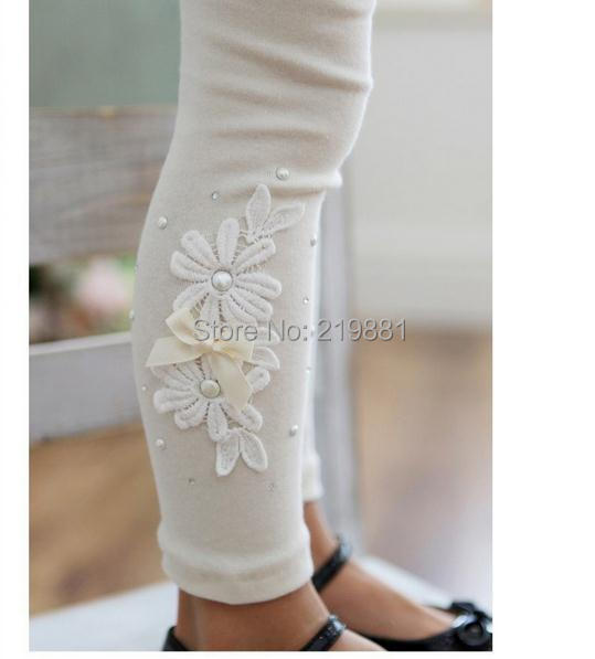 Здесь можно купить  NEW ! Girls autumn pure color  leggings , children pants girls , 5pcs/lot   LXP09   Детские товары