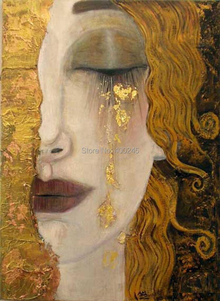 Peinture de gustav klimt promotion achetez des peinture de gustav klimt promotionnels sur for Peinture qualite