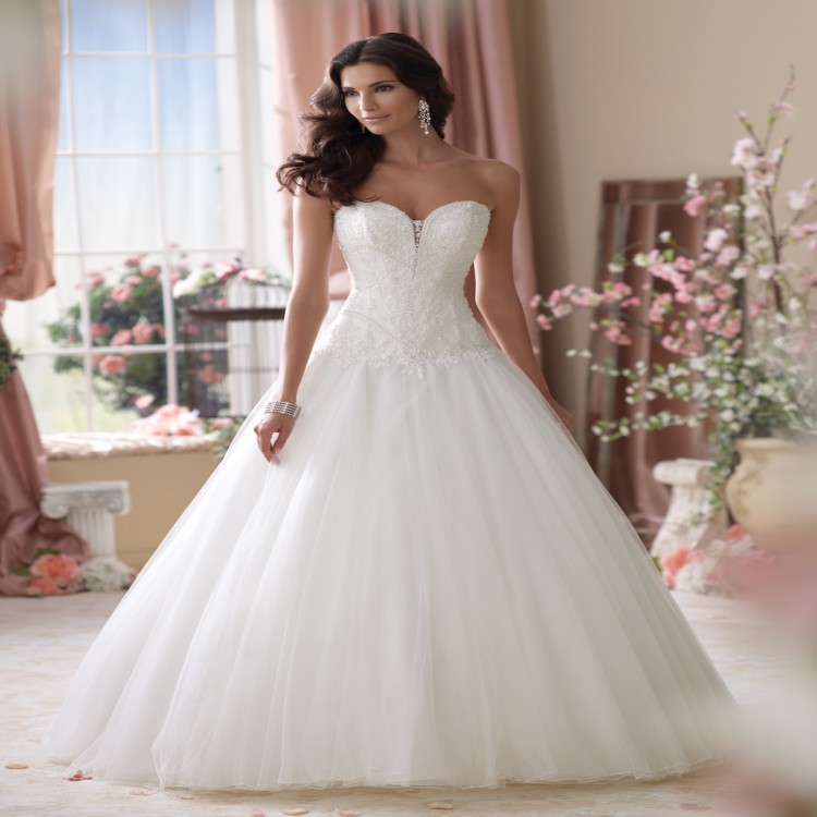 Ball Gown Wedding Dress Davids Bridal Ivo Hoogveld