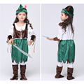 2016 Christmas Gift Pirate Girls Party Cosplay Costume for Children Kids Clothes fancy dress Halloween Costumes