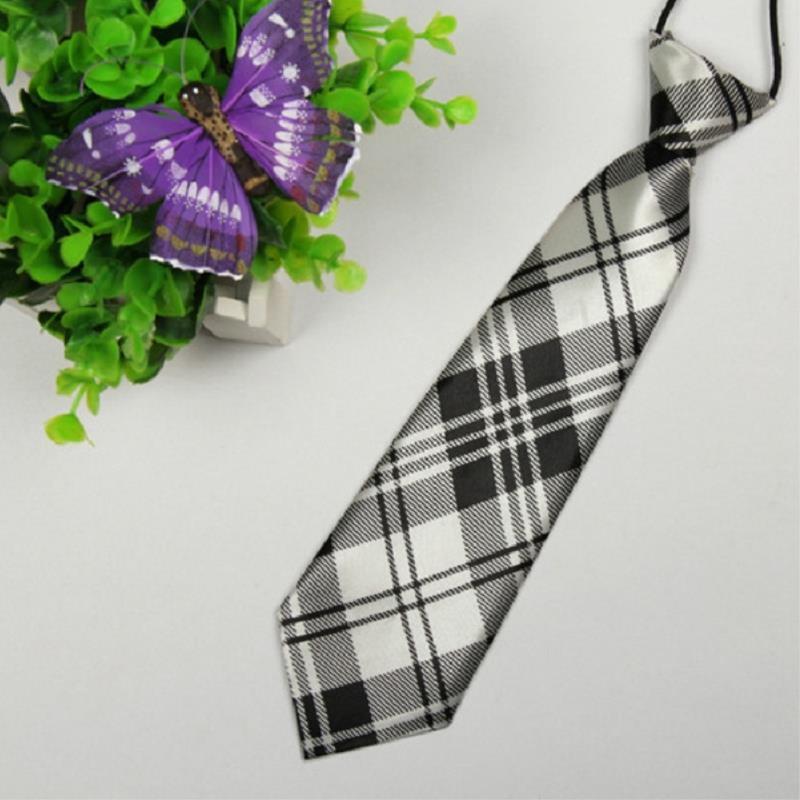 Casual Suits Wear Gray grayish white cross Children 28cm-6cm tie mens gravata For Wedding Party Business Watch video please!(China (Mainland))