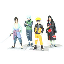 Good Anime PVC Naruto Hatake Kakashi Uchiha Sasuke Action Figure Uzumaki Model Toy Decoration Collections Men Gifts - TOYBOY CO.,LTD store