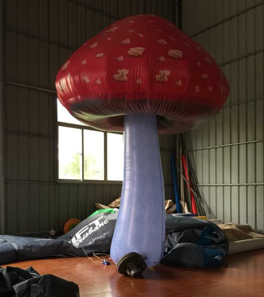 2015 Hot sale 3m (10ft) giant inflatable mushroom for decoration, events, advertising(China (Mainland))
