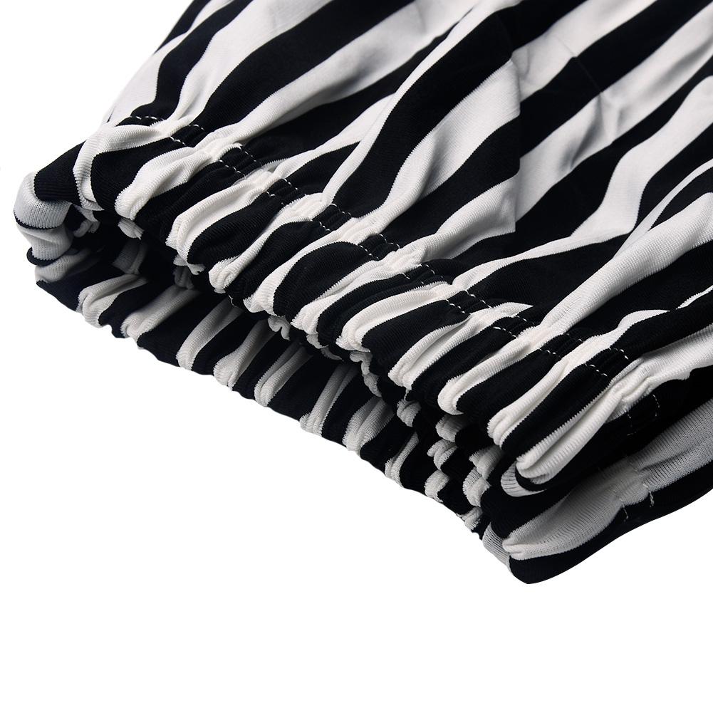 Летние женские модные свободные шорты в Вертикальную Полоску с высокой талией aeProduct.getSubject()