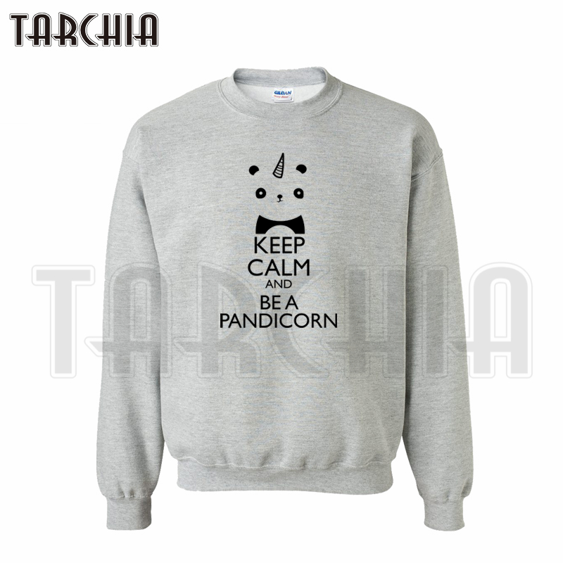 TARCHIA European Style fashion free shipping font b hoodies b font keep calm and be a
