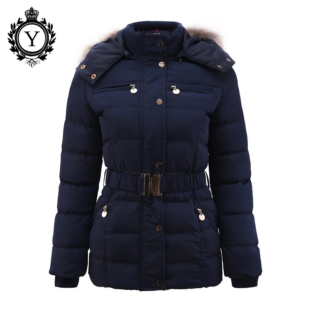 COUTUDI New Arrival Winter Jackets Women Slim Elegant ...