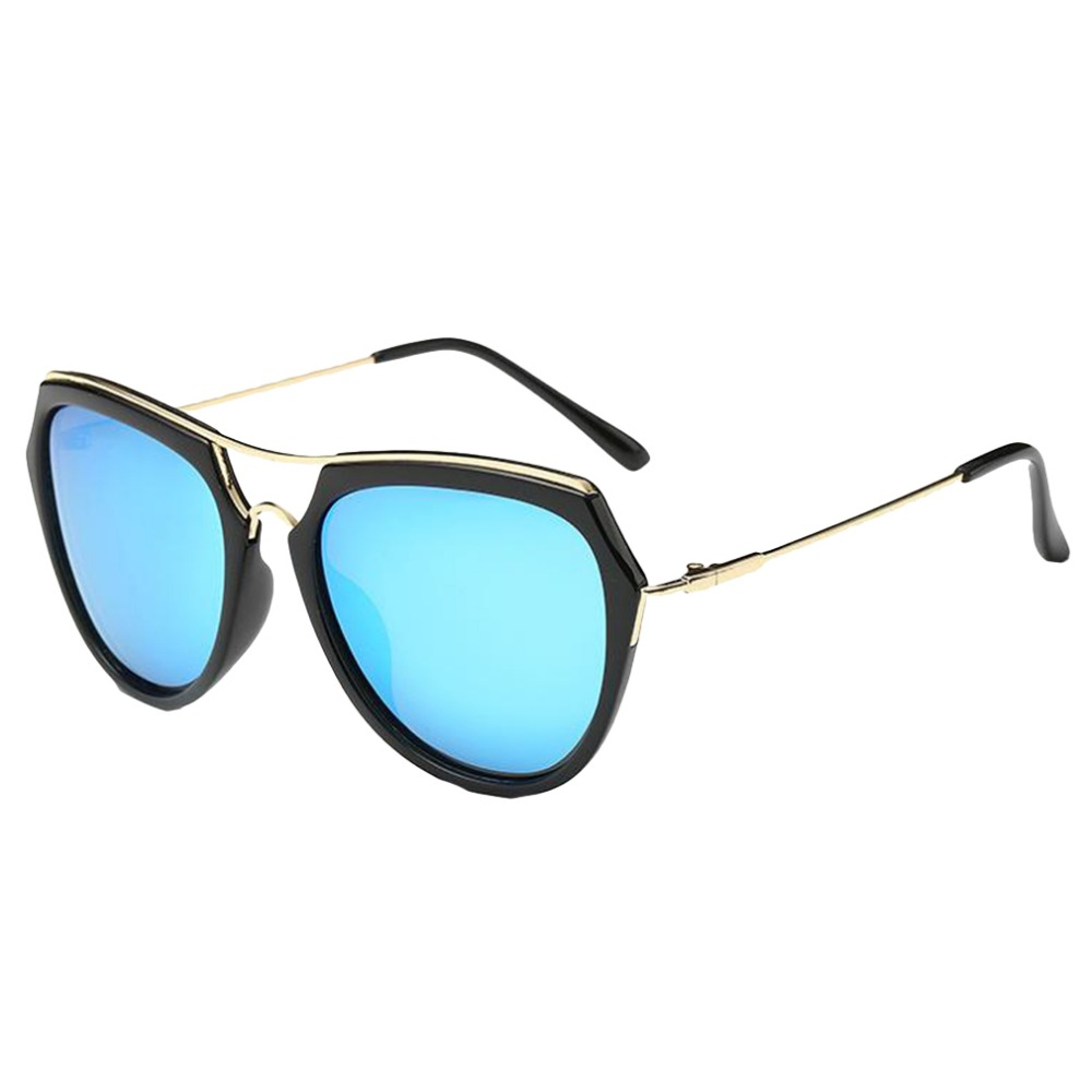2016 Sunglasses Women/Men Vintage Fashion Metal Frame Mirror Sun Flat Glasses Polarized Sunglasses Retro Eyewears Accessories(China (Mainland))