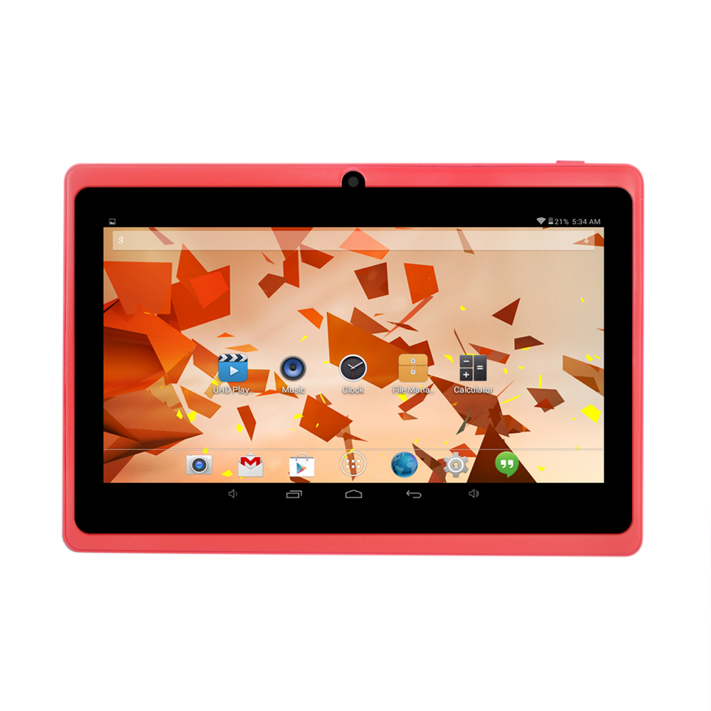 2015 Hot 7 touch screen Allwinner 1 4GHz Quad Core 512MB 8GB Android 4 4 Tablet