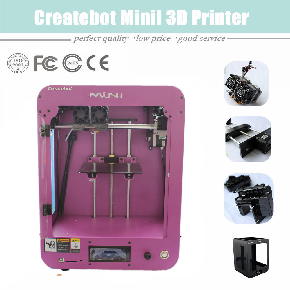 2016 Latest Version New Upgraded Createbot Small 3D Printer Made In China