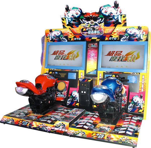 Moto Racing Game Coin Operated Arcade Game Machine Simulation Game Amusement Machine (GP Moto III)(China (Mainland))